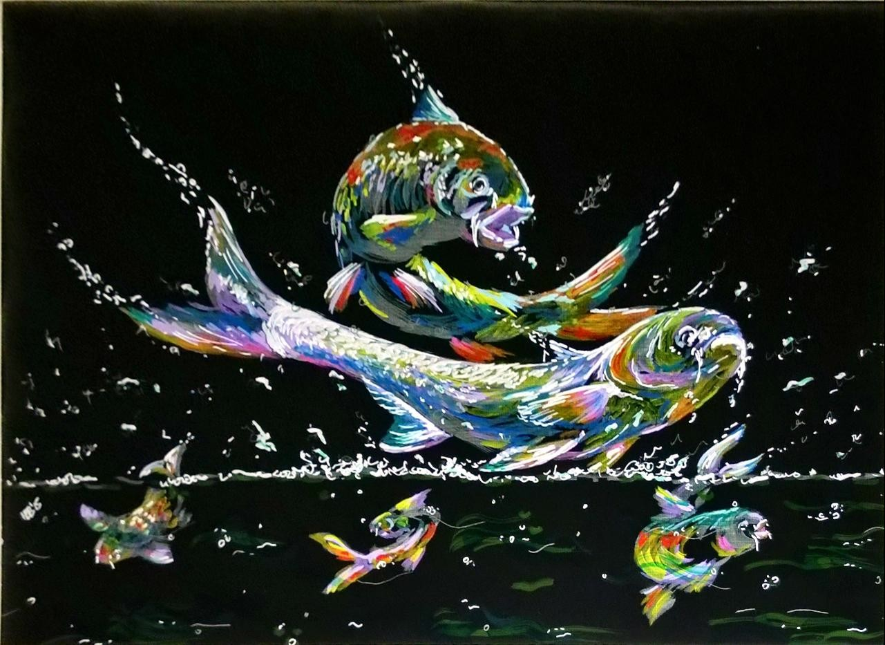 Koi 2 - commisioned work