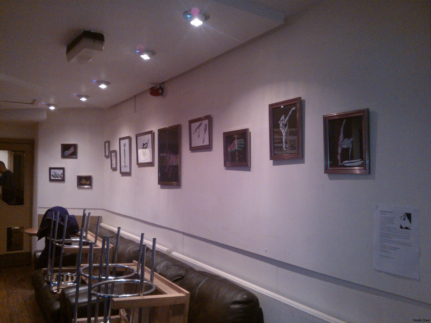 1st exhibition - Time Cafe Wakefield